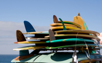 surfboard repair pick up ;services